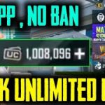 UNLIMITED UC HACK GET FREE ROYAL PASS OR UC IN PUBG FREE